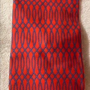 Gucci Red/Blue Mens Tie